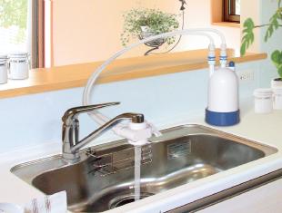 W機能家庭用浄水器